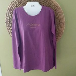 Life Is Good Women's Top Size Large